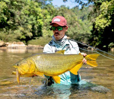 Golden Dorado at Tsimane's Agua Negra Lodge