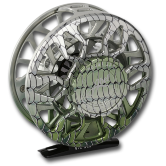 Abel SDS Reel with Bonefish Graphic