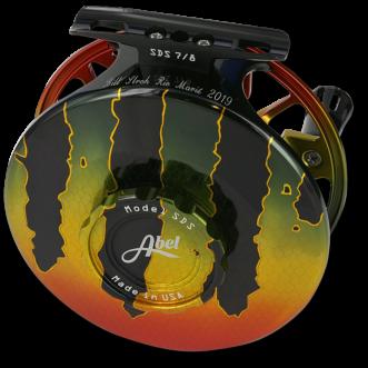 Abel SDS 7/8 reel - Peacock Bass