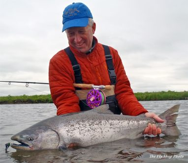 King salmon at Lava Creek Lodge