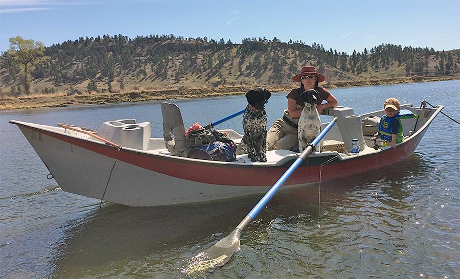 Argotti family driftboat