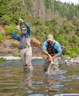 Jordan Taylor on the Pit River with Matt Dahl
