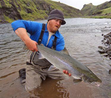 Justin Miller in Iceland