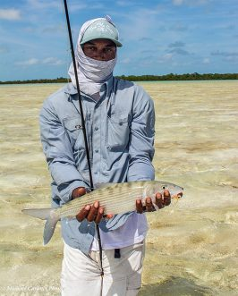 Bonefish at Robby's Place in the Bahamas