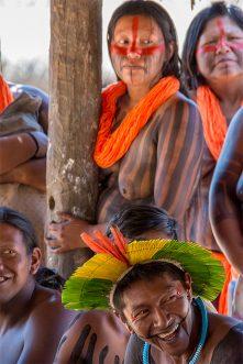The Kayapó tribe at Kendjam