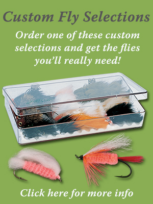 Alaska Trout Fly Selection