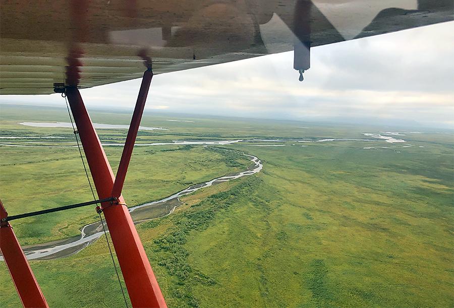 Aerial of Alaska