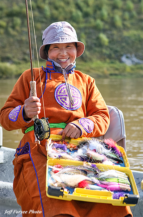 Essential Flies for Fly Fishing for Taimen in Mongolia
