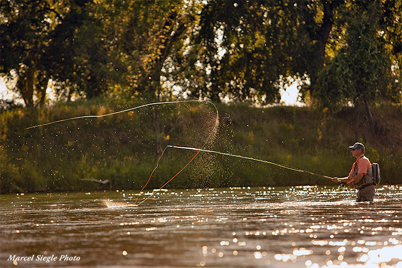 Spey Obsession - Chris King casting