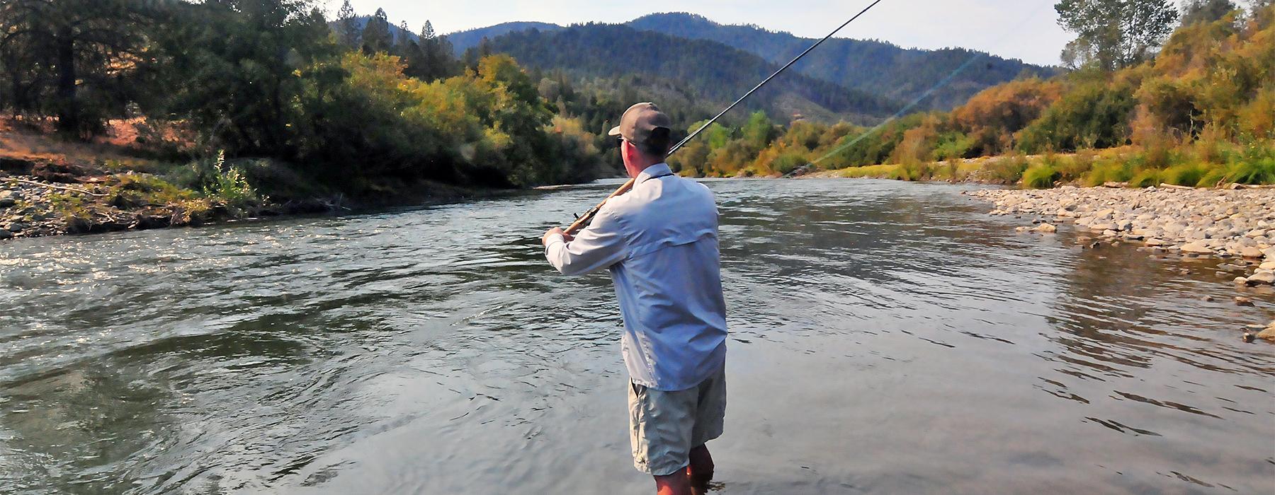 Summer Run Steelhead Fly Fishing in Northern California