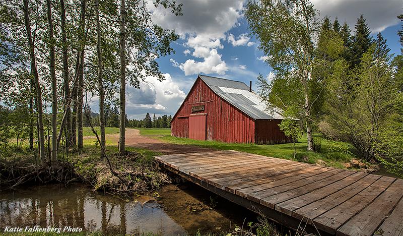 Antelope Creek Ranch historic barn