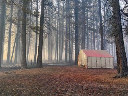 Fishcamp Tent
