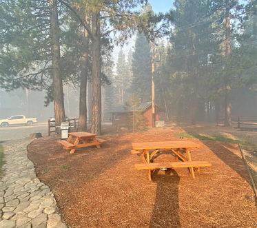 Antelope Fire at Antelope Creek Ranch - Picnic Area